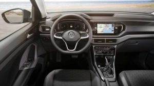 Салон Volkswagen T-Cross 2018
