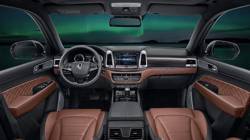 Салон SsangYong Rexton 2019