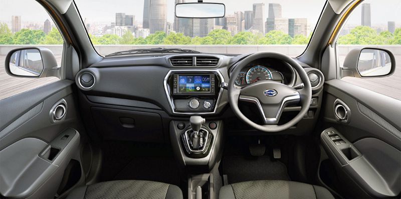 Салон Datsun GO-Cross 2019