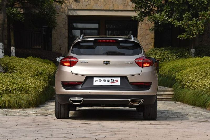 Geely Emgrand Cross 2019
