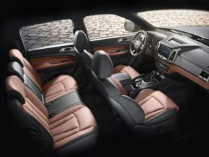 Салон SsangYong Rexton Sports 2020
