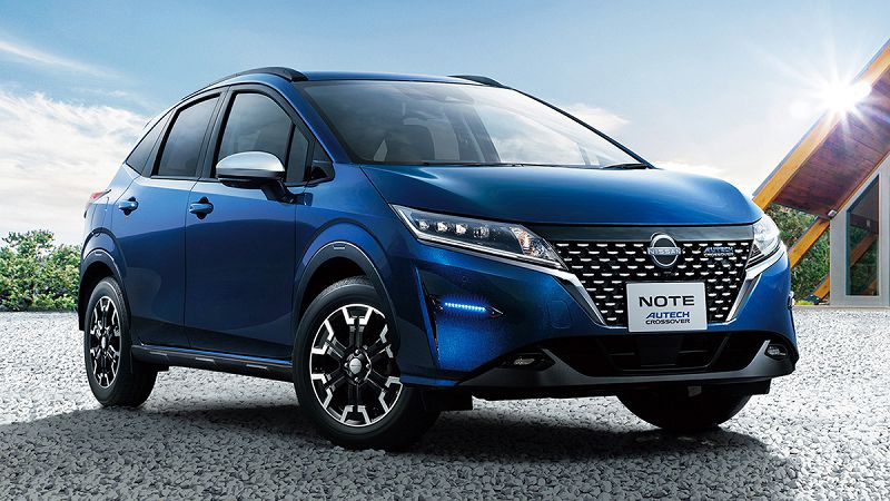 Nissan Note Crossover 2022